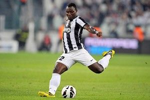 Kwadwo Asamoah, who plays for Juventus, is considered by some to be Ghana's best player.