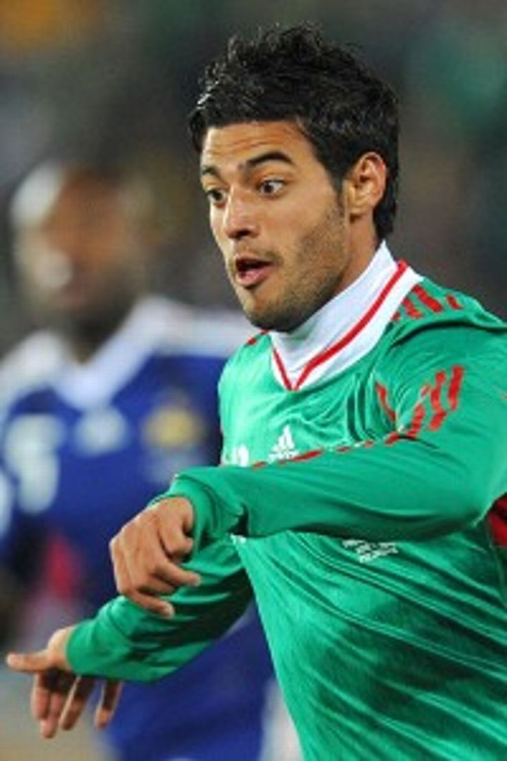 Carlos Vela, pictured playing for Mexico in the 2010 World Cup, has lately focused on club and refused the call to play for country.