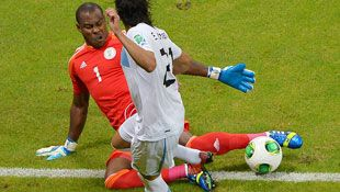 Nigeria international goalkeeper Vincent Enyeama.