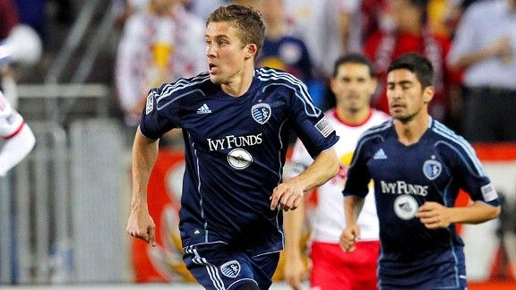 Sporting Kansas City's Matt Besler made $36k in his rookie year in 2009.