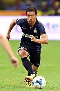 Yuto Nagatomo powered in a 75th-minute header to see Inter Milan to victory over Genoa.
