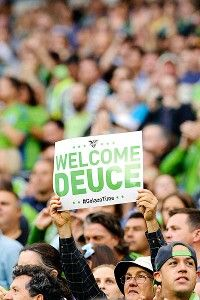 More than 67,000 fans turned out for Clint Dempsey's Seattle home debut, the second-largest, stand-alone crowd in MLS history.