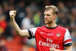Per Mertesacker has taken on more of a leadership role in Arsenal's backline.