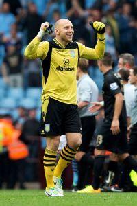 Goalkeeper Brad Guzan was brilliant in Aston Villa's stunning victory over Manchester City.