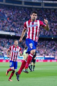 With 11 goals, Diego Costa is the top scorer in La Liga this season.