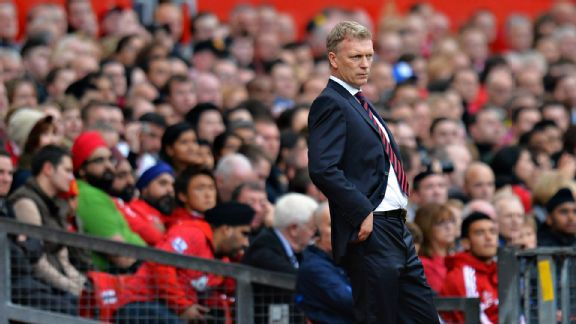 David Moyes has struggled so far in his first campaign with Manchester United.