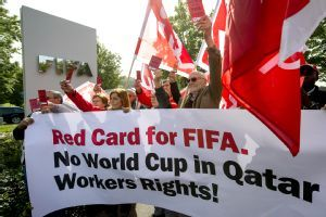 FIFA slams Qatar over labour issues