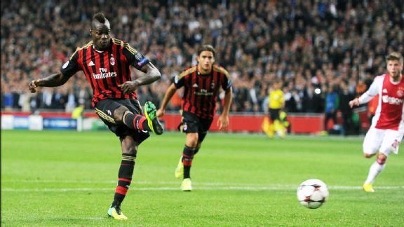 Mario Balotelli hasn't been the same player this season for AC Milan.