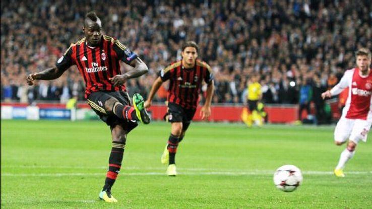 Mario Balotelli hasn't been the same player this season for AC Milan.