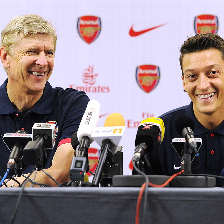 Image result for Arsene Wenger confident Mesut Ozil will extend Arsenal stay