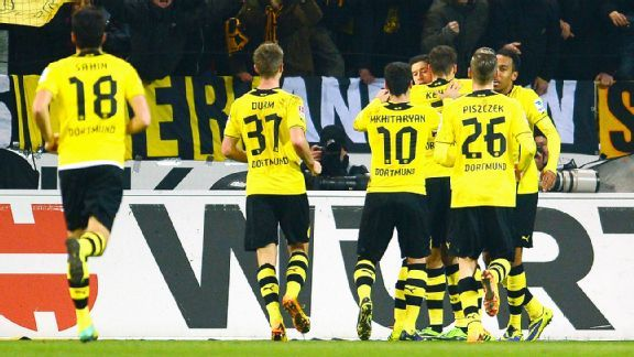 It was a struggle but Borussia Dortmund shook off a slow start to down Mainz.