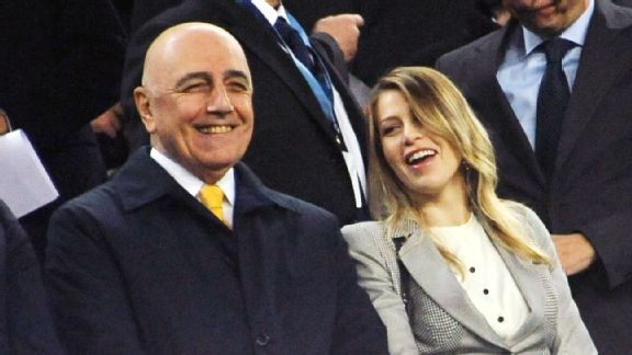 Time will tell if Adriano Galliani, left, and Barbara Berlusconi, right, will be able to lead Milan forward together.