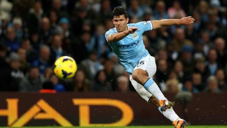 Sergio Aguero is a versatile weapon for Manchester City's attack.