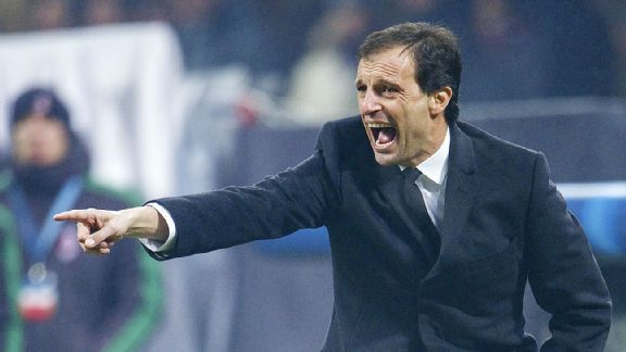 Massimiliano Allegri hopes to have his Milan side pointed in the right direction prior to the winter break.