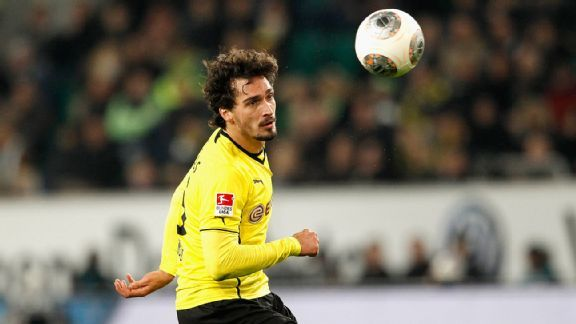 Borussia Dortmund defender Mats Hummels, 25, could be a possible replacement for Patrice Evra.
