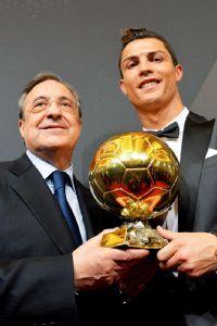 Ronaldo named Ballon d'Or winner