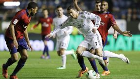 Cristiano Ronaldo hit the opener against Osasuna.