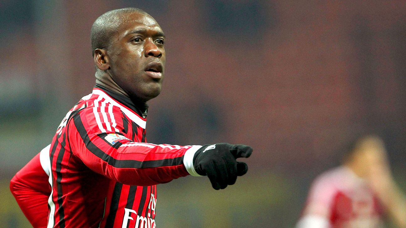 Clarence Seedorf made 300 league appearances for AC Milan between 2002 and 2012.