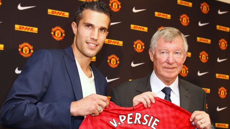 Robin van Persie's move to Manchester United in 2012 was a classic Sir Alex Ferguson masterstroke.