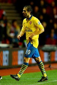 Mathieu Flamini says the Gunners are on top form and ready to take on Bayern.