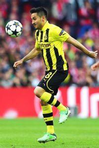 Gundogan has played just once in the Bundesliga this season.