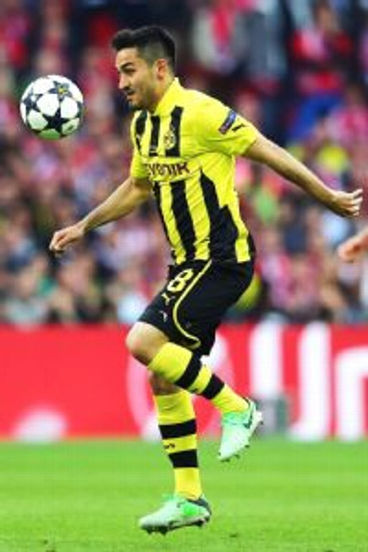 Gundogan has played just once in the Bundesliga this season.