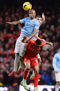 Fernandinho could be a doubt for City's FA Cup rematch with Chelsea.