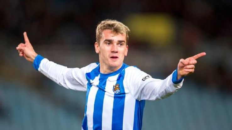 Antoine Griezmann is one of several Real Sociedad stars who could take advantage of Barca's shaky defending.