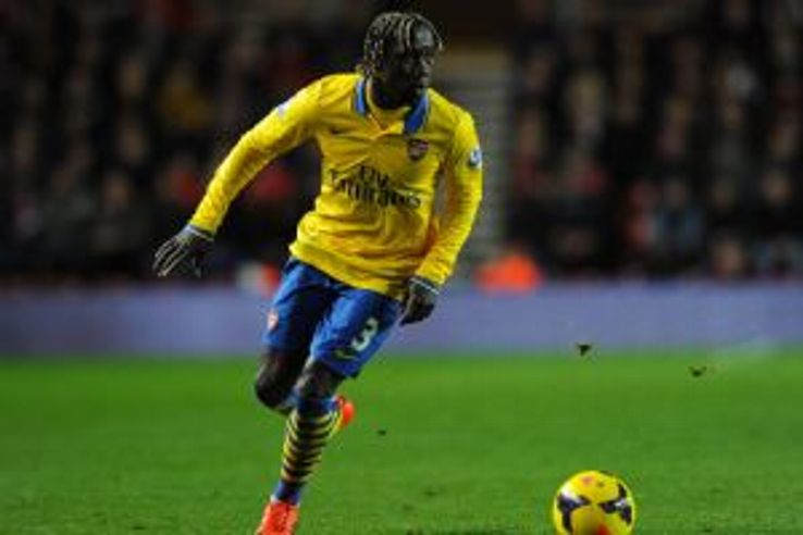 Bacary Sagna could leave Arsenal in the summer.