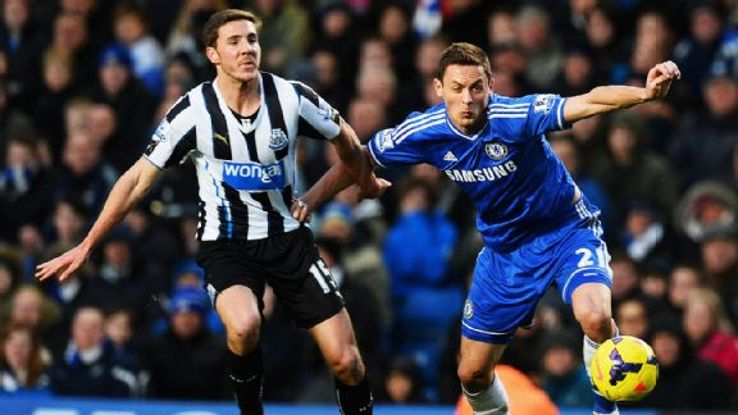 Newcastle were outclassed by a much stronger Chelsea side.
