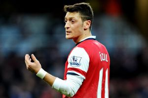 Mesut Ozil has not found the net for Arsenal since scoring against Hull on Dec. 4.