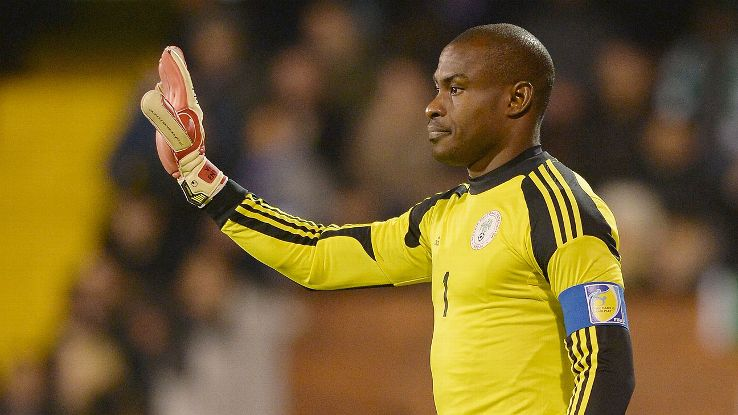 Vincent Enyeama's career with Nigeria began 12 years ago.