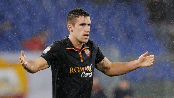 Kevin Strootman is out of the World Cup, but Holland and Manchester United manager Louis van Gaal would like to see him at Old Trafford once he's well.