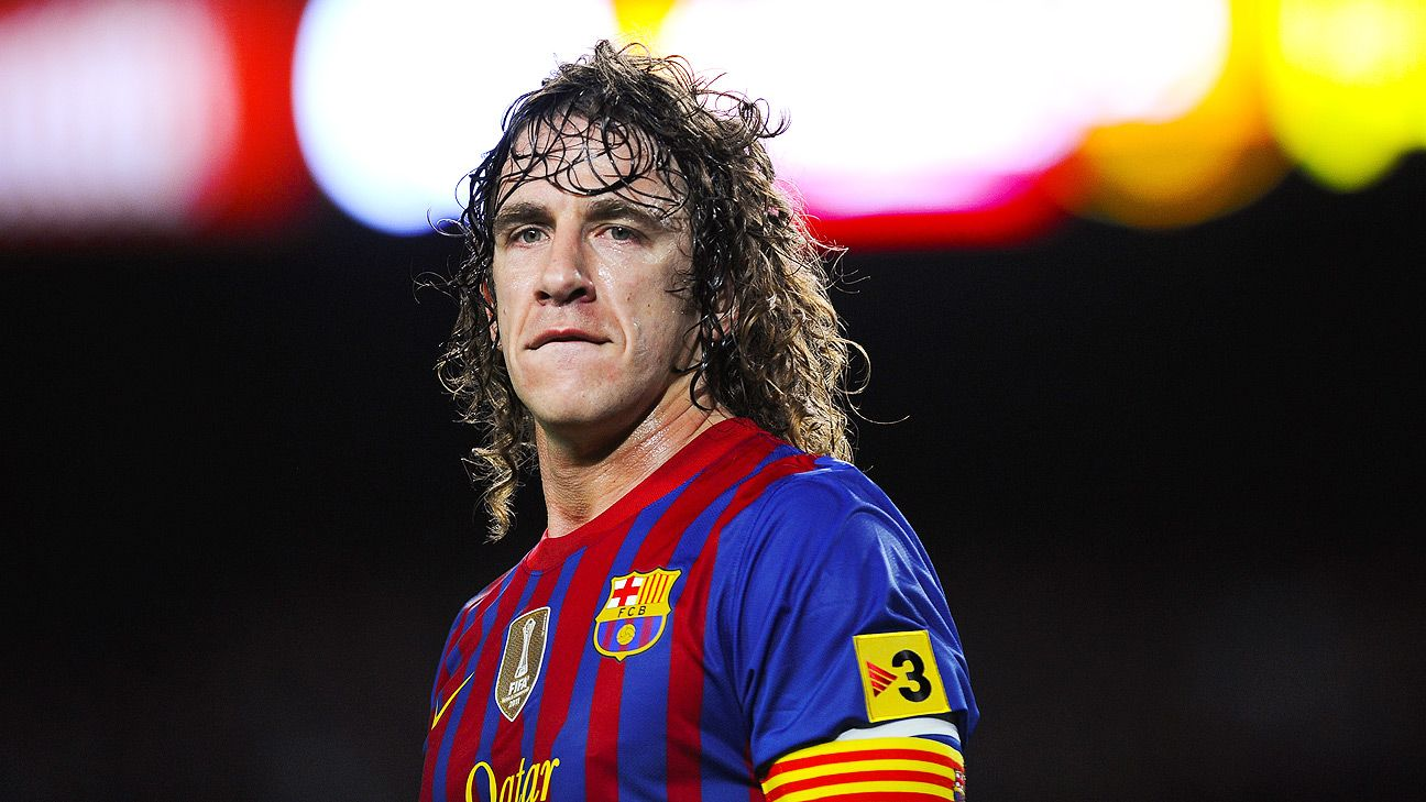 Carles Puyol made 593 appearances for Barcelona.