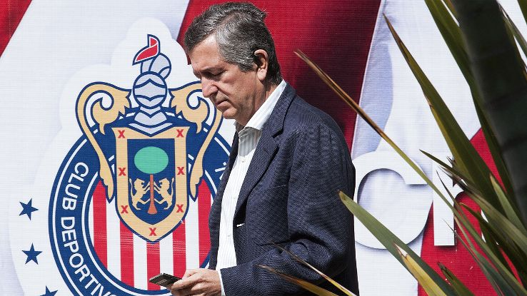 As the losses pile up, the fear of relegation grows for Chivas Guadalajara owner Jorge Vergara.