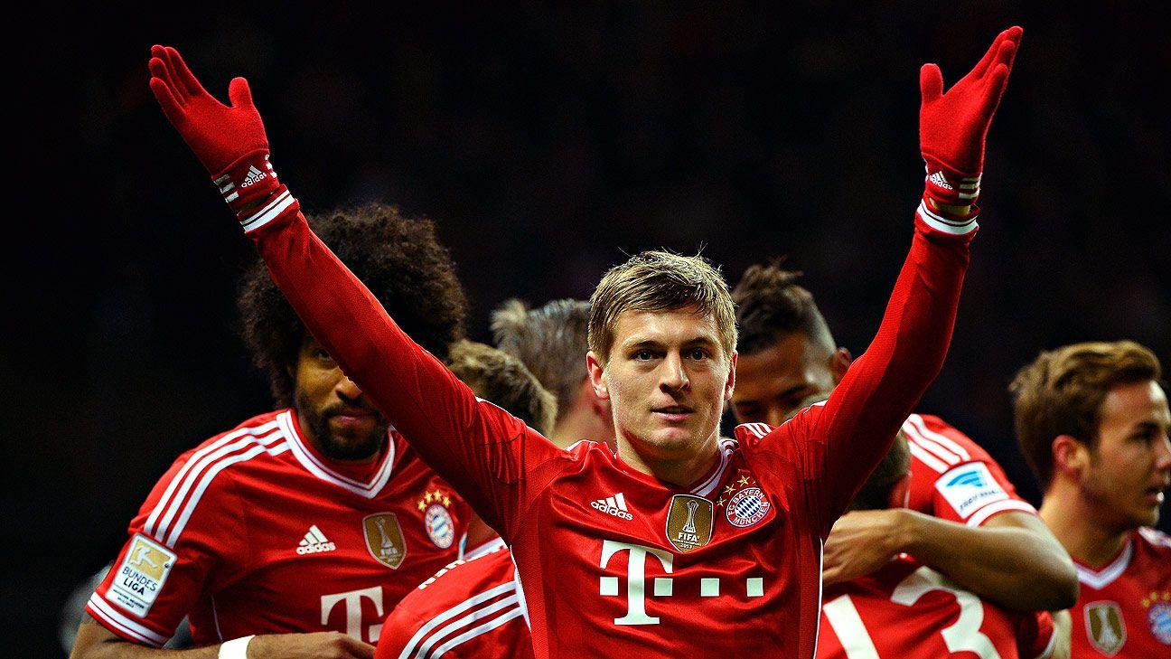 Toni Kroos' move to Madrid agreed