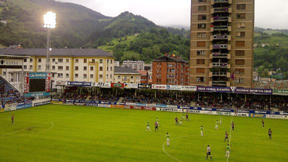 Eibar routinely draws 3,000 fans, not nearly enough to match their needs.