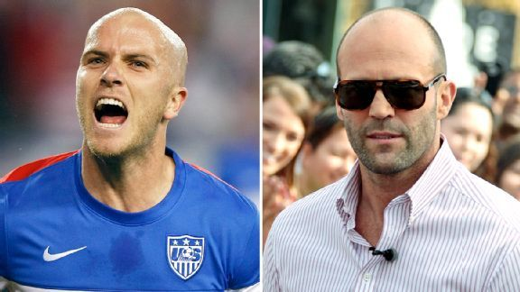 Is there a better Hollywood doppelganger for Bradley than Jason Statham?