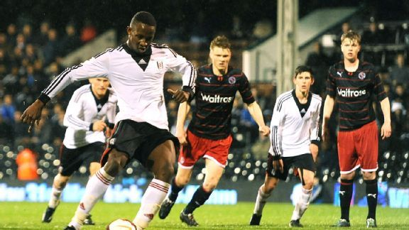 Moussa Dembele gave Fulham fans reason to cheer helping their U18 team to a win in the FA Youth Cup semis.