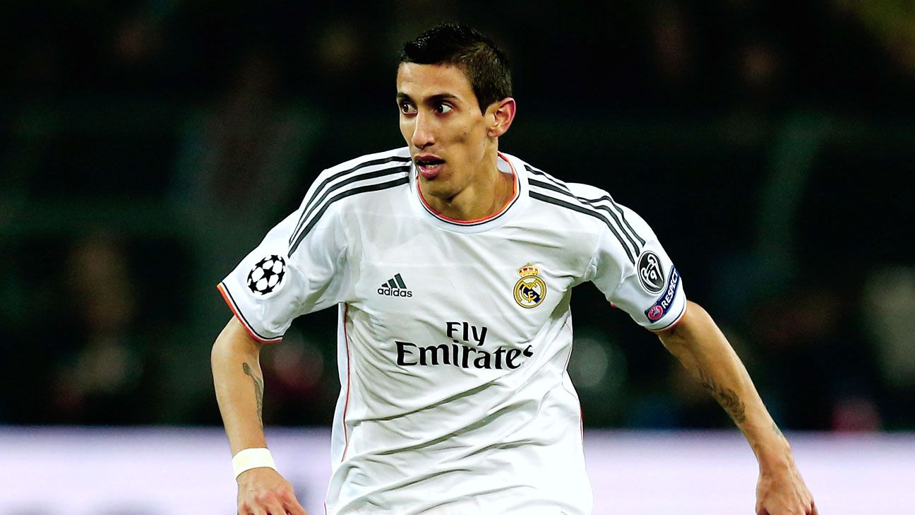 Manchester United may be looking to add Real Madrid's Angel di Maria into the mix.