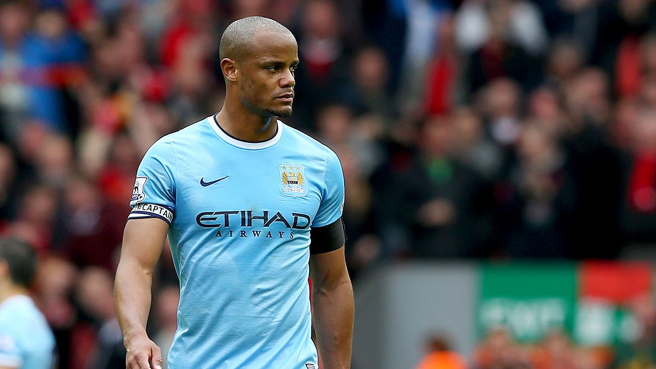 Vincent Kompany and Manchester City look to defend their Prem title.
