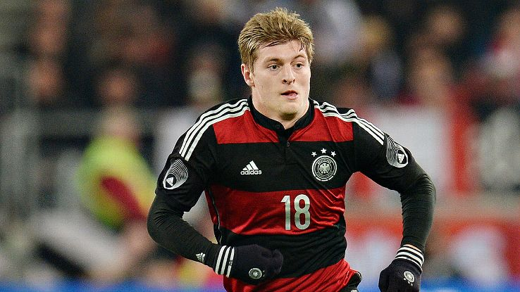 Toni Kroos has earned his spot in Germany's starting midfield versus Portugal.