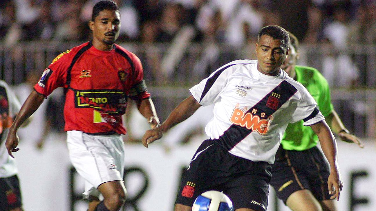 Romario scored over 1,000 goals in his career and ended his playing time at 42.