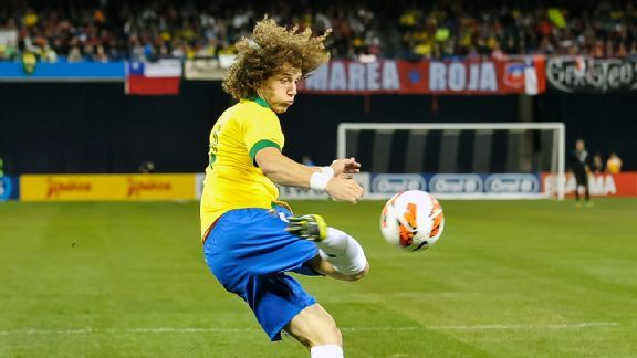 Brazil will count on the leadership and maturity of the likes of David Luiz to steady their side.