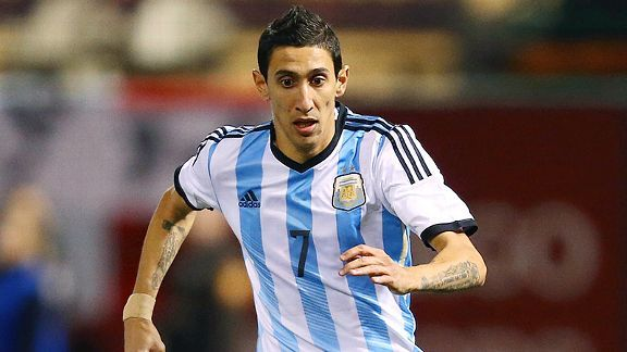 Angel Di Maria will be crucial to Argentina's hopes in Brazil.