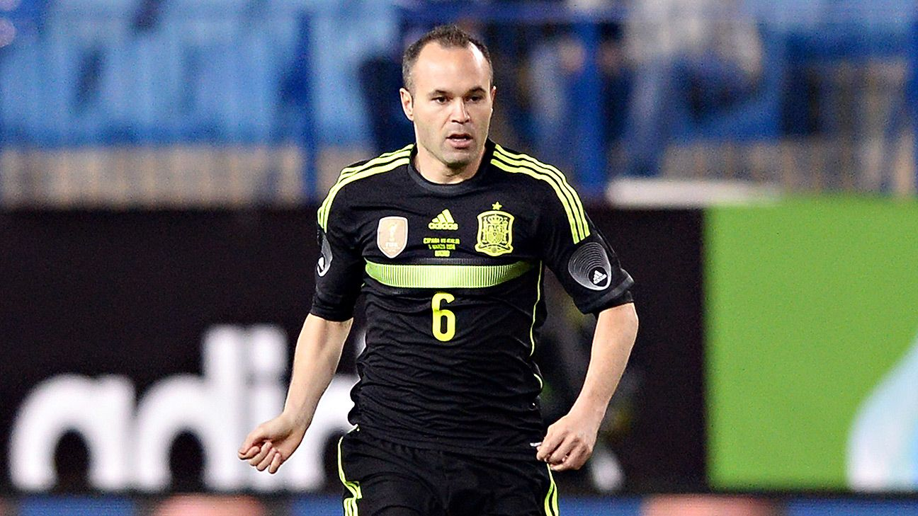 2014 World Cup - #WorldCupRank: No. 3 Andres Iniesta of Spain and Barcelona