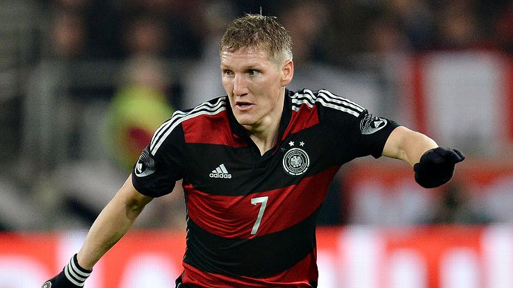 Bastian Schweinsteiger is an injury concern but now should still form a big part of Germany's World Cup plans.
