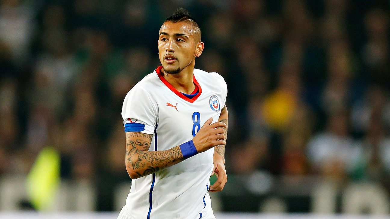 Arturo Vidal is a versatile midfielder who can switch from offense to defense seamlessly.