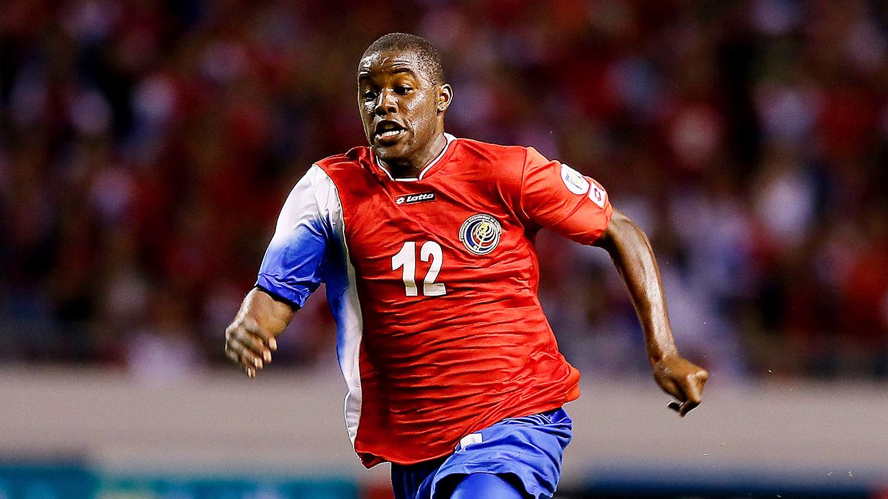 Joel Campbell will have to lead the Costa Rica attack with Alvaro Saborio out injured.