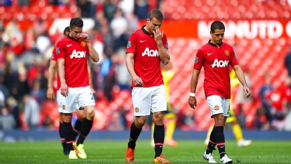 Manchester United absorbed their seventh league loss of the season at home on Saturday to Sunderland.